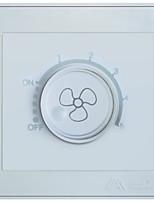 Auman eletrônico de velocidade / eletrônicos interruptor 86 painel de parede tomada interruptor dimmer AT7 branco