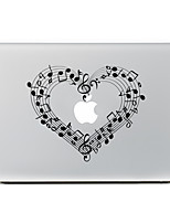 Love Musical Notation Decorative Skin Sticker for MacBook Air/Pro/Pro with Retina