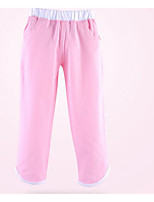 Girl's Casual/Daily Solid PantsCotton Winter / Spring / Fall Pink