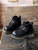 Boy's Boots Fall Others Suede Outdoor / Athletic / Casual Others / Lace-up Black Others