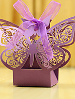 Wedding gifts 12 Piece/Set Favor Butterfly candy box Pearl Paper Favor Boxes Non-personalised