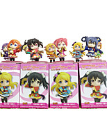 Love Live Cosplay PVC 6cm Anime Action Figures Model Toys Doll Toy 9