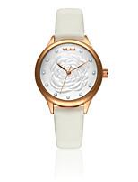 Quartz-watch Wristwatches Flowers Rhinestone lady wrist watches women