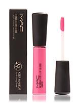 Блески для губ Матовое стекло / минеральный Жидкость Цветной глянец / Влажность / Стойкий / Водонепроницаемый / НатуральныйВозможные