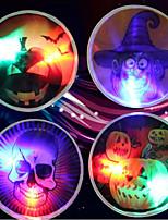 motif de halloween bâton lumineux wacky accessoires de jouets sorcière squelette citrouille bâton lumineux est 9cm aléatoires