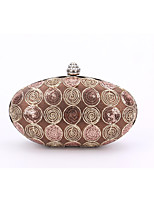 Women leatherette Formal / Event/Party / Wedding Evening Bag  Luxury Lace Flower