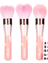 3 Powder Brush / Other Brush Goat Hair Professional Wood Face ENERGY