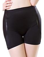 Ladies Kardashian  Plus Size Elastic Waist Plump Sexy Buttock Crotch Thin Abdominal Sponge Mats Shaping Pants