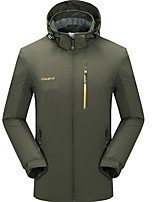 Hiking Softshell Jacket Men's Breathable / Thermal / Warm / Quick Dry / Windproof / Ultraviolet Resistant Sweat-wicking