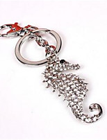 Cool Hippocampus Men Waist Hanging Key Ring Key Ring Car Bags Pendant