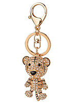 Diamond Zodiac Tiger Key Buckle Car Key Chain Accessories