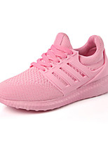 Women's Sneakers Spring / Fall Comfort PU Casual Flat Heel  Black / Pink / White Others