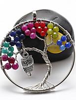 Ожерелье Без камня Ожерелья с подвесками Бижутерия Halloween / Свадьба / Для вечеринок / ПовседневныеБогемия Стиль / Стиль / Multi-Wear