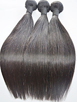 Straight  Human Hair  Weaves Natural Colo hair Extension