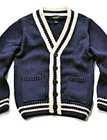 Boy's Casual/Daily Solid Sweater & CardiganCotton Winter / Spring / Fall Blue