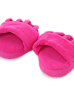 Women's Slippers & Flip-Flops Spring Fall Scuff Synthetic Casual Flat Heel Others Pink Others