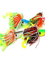 1 pcs Buzzbait & Spinnerbait Lures Buzzbait & Spinnerbait Random Colors 60 g Ounce mm inch,Silicon Bait Casting