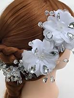 Dame Krystall / Tyll / Legering / Akryl Headpiece-Bryllup / Spesiell Leilighet / Avslappet Pannebånd / Blomster 1 Deler