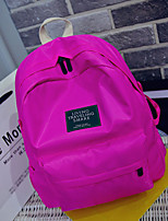 Women Canvas Casual Backpack Blue / Green / Red / Black / Fuchsia