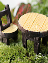 Moss Microscopic Multi-Meat Plant Decoration Round Table Chair Stool Resin Craft Decoration DIY Material