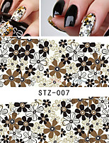 Water Transfer Stickers NEW Beauty Flower Tips Nail Art Decals