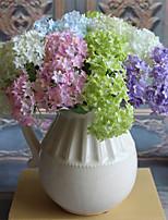 3 3 Филиал Шелк Гортензии Букеты на стол Искусственные Цветы 32CM