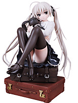 In Solitude Where We Are Least Aalone Kasugano Sora PVC 18cm Anime Action Figures Model Toys Doll Toy 1pc