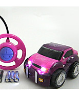 Car Racing 566-11B 110 Brush Electric RC Car / 2.4G Pink Ready-To-Go Remote Control Car