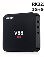 scishion V88 rk3229 Android 5.1 Smart TV 4k 1g núcleo RAM 8G ROM de cuádruple wifi