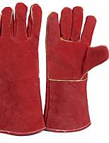 la protection de l'électricité couleur gants rouge