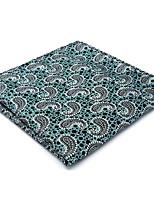 Для мужчин Винтаж / Очаровательный / Для вечеринки / Для офиса / На каждый день Платок / аскотский галстук,Искусственный шёлкУзор пейсли