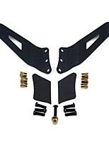 Kawell 1999-2006 gm uper pára-brisa acessórios suporte de montagem kit de 50 polegadas curvo levou barra de luz