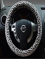 Классический леопардовый чехол руль
