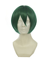 tuteur - fran / v maison Mikuo sombre visage vert cheveux courts perruque cos