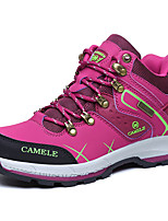 Women's Athletic Shoes Spring / Summer / Fall / Winter Comfort PU / Microfibre Outdoor / Athletic / Casual Flat Heel Lace-up Purple