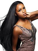 черный цвет прямой европейский синтетические парики монолитным для женщин афро