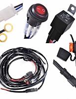 Kawell 1 perna cablagem incluem interruptor kit suppot 300w conduziu a luz do trabalho levou cablagem barra de luz e kit interruptor