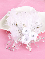 Bride's Feather Wedding Hair Accessories Headbands Hair Clip Barrette 1 PC