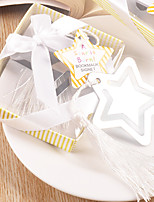 Wedding Party Party Favors & Gifts-1Piece/Set Gifts Ribbons Metal Cuboid Non-personalised Silver
