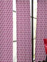 פאנל אחד טיפול חלון מעצב , פס חדר שינה פוליאסטר חוֹמֶר וילונות וילונות קישוט הבית For חַלוֹן
