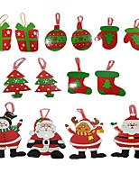 Christmas Tree Hanging Christmas Card Christmas Card Wishing card Christmas Decoration Supplies