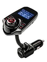 agetunr FM-передатчик Bluetooth автомобильный комплект громкой связи mp3 музыкальный плеер радио адаптер с пультом дистанционного