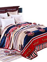 Extra měkká Vícebarevný,S potiskem Novinka 100% polyester přikrývky W200*L230cm