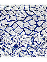 White Apparel Fabric & Trims