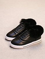 Men's Flats Comfort Leather Casual Black White
