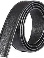 Katusi 12 Mens Belt Business Casual First Layer of Leather No Buckle 3.5cm Width kts12-1