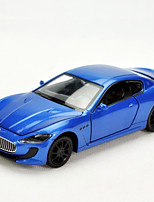 Action Figure / 132 Maserati back light alloy models simulation toy car