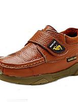 יוניסקס-נעלי אוקספורד-עור נאפה Leather-נוחות-חום / ירוק-קז'ואל / ספורט-עקב שטוח