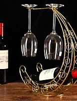1PC Color Random Creative Newfangled Kitchen Grogshop Restaurant Decoration Iron  Art Wine Place Rack