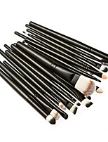 20 Makeup Brushes Set Synthetic Hair Professional / Portable Wood Face / Eye / Lip 1#